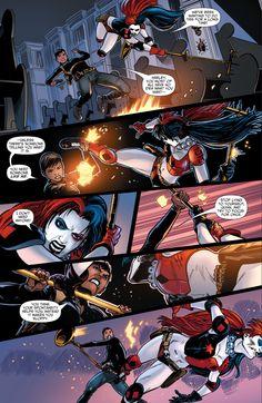 amanda waller vs deadshot, captain boomerang and harley quinn