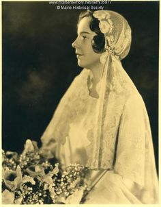 Elizabeth Neall Gay Pierce, New York, 1929. Item # 35977 on Maine Memory Network
