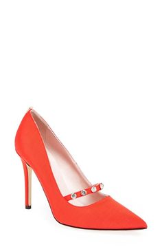 SJP by Sarah Jessica Parker SJP 'Daphne' Grosgrain Pump (Women) (Nordstrom Exclusive) available at #Nordstrom