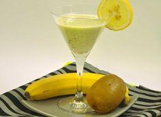 Smoothie banane-kiwi