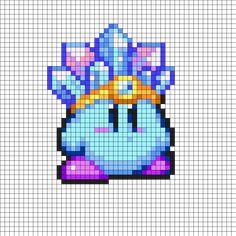 ICE_Kirby by Xcrazybloodsuckerx on Kandi Patterns
