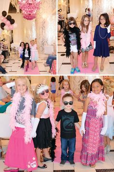 birthday party fashion show catwalk …