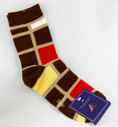 """""""Checkered Blocks"""" Men's Socks by MAGIC 