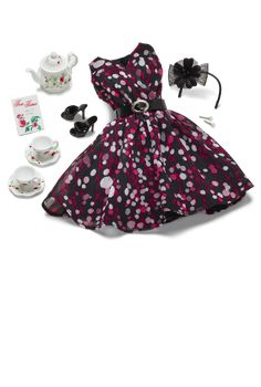 Tea Party Barbie Fashion - Barbie Clothes & Fashions For Dolls | Barbie Collector
