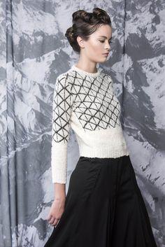 # HANDMACHINE #ALBA #BABYALPACA #knitwear