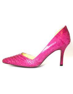 MISS ANAIS PERFECT TOE IN FUCHSIA @ Club Couture, $109