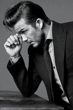 My friend told me she had dibbs on David Beckham, I said, sure you can have him...Then i saw the H & M commercial, and the first thing that popped in my head was, 'I immediately regret this decision.'