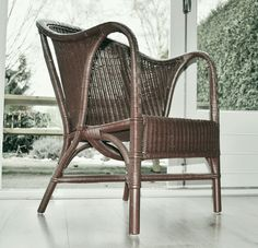 Vintage Angraves cane tub chair. Made by Angraves Invincible ltd of Thurmaston, Leicestershire, England.