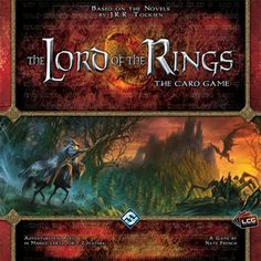 Lord Of The Rings Living Card Game - cool and unique, but I don't see how it's possible to win (at least at 1 player)