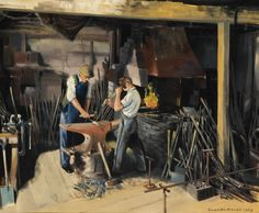 Watford Museum - Sheehan's Forge, Red Lion Yard, Watford by Gordon Hales