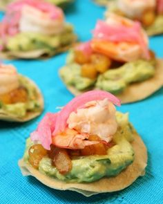 """See the """"Coconut-Poached Shrimp Tostadas"""" in our  gallery 