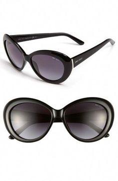 db798c911b9 Jimmy Choo  Valentina  57mm Cat Eye Sunglasses available at  Nordstrom   JimmyChoo