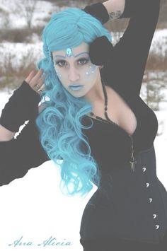 #Vampirefreaks #Goth girl model Unpadonablesin in a shoot with Ana Alicia