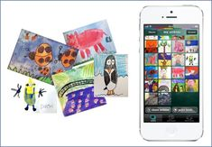 The best ever free app for storing/organizing your kids' artwork