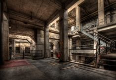 Beneath the Turbine Hall, Seaholm Power Plant, Austin