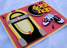 Sock Hop Any Occasion Card by APinkNest on Etsy, $5.25
