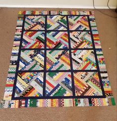 Jellyroll Quilts, Scrappy Quilts, Mini Quilts, Baby Quilts, Modern Quilt Patterns, Quilt Block Patterns, Pattern Blocks, Quilt Blocks, Crumb Quilt