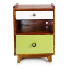 Ned Wood Bedside Cabinet