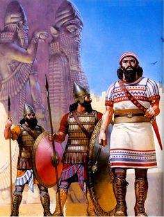 Assyrian - Royal Guard seventh century B.C.