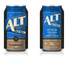 Hops & Grain brewery from Austin, TX #packaging   www.the-mad-house.com