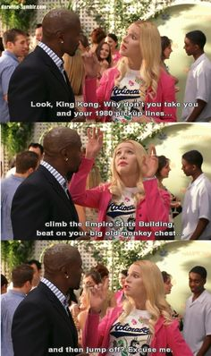 Ah White Chicks ... I love this movie! Now, I'm singing that song... LOL  Makin' my way downtown....