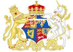 Coat of Arms of Charlotte Augusta Matilda, The Princess Royal.