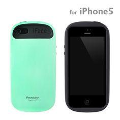 docomo au SoftBank iPhone5 iPhone5s 専用 iface Revolution ハード iPhone ケース カバー ジャケット (ミント) 【総代理店】Hamee 株式会社, http://www.amazon.co.jp/dp/B009CSFPY2/ref=cm_sw_r_pi_dp_6jzTvb1M2SADD