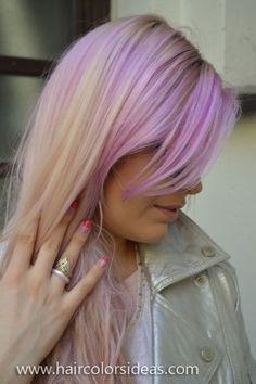 Pretty pink pastel hair!