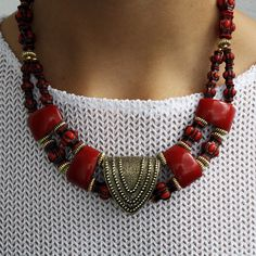 '90s Tribal Necklace design inspiration on Fab.