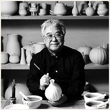 National Living Treasure of Japan as a potter, Tokuda Yasokichi III 1933 - 2009 三代徳田八十吉(人間国宝)