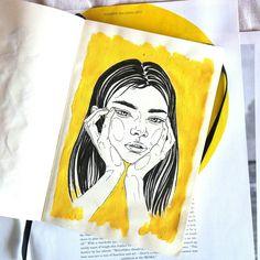 Sketchbook session no.1 @myownocean