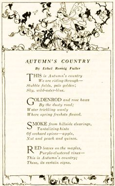Poem-Autumn's Country Lovely Smile, Autumn Decorating, Autumn Leaves, Red Leaves, Falling Leaves, Fall Harvest, Harvest Time, Autumn Inspiration, Happy Fall