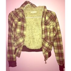 Vintage Forever21 plaid coat-- SMALL Worn but in great condition and has many many many wears left!! Vintage Forever 21 brown plaid jacket with furr on the inside. Women's size small. Runs on the small side. Forever 21 Jackets & Coats Puffers