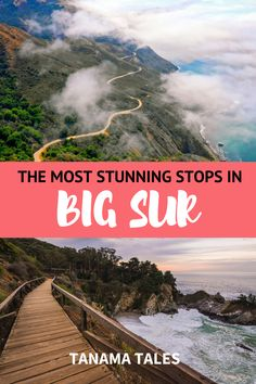 How to Plan the Ultimate Big Sur Road Trip, #California | Big Sur Photography | Big Sur Wedding | Big Sur Elopment | Big Sur Camping | Things to Do in Big Sur | Big Sur Hikes | Big Sur Photo Stops | McWay Falls | Post Ranch Inn | Bixby Bridge | Big Sur Glamping | Where to Stay in Big Sur | Nepenthe | Treebones Resort | Big Sur with Kids | What to Do in Big Sur | Day Trip to Big Sur | Big Sur Beaches | Big Sur Aesthetic | Big Sur Itinerary | Pacific Coast Highway Road Trip Stops Usa Travel Guide, Travel Usa, Travel Guides, Travel Tips, San Diego Travel, San Francisco Travel, Cool Places To Visit, Places To Travel, Travel Destinations