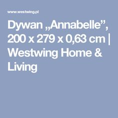 """Dywan """"Annabelle"""", 200 x 279 x 0,63 cm 