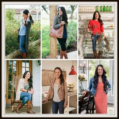 Celebrity Style ~ Joanna Gaines   LINK UP