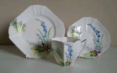 Shelley-Queen-Anne-Shape-Country-Bluebell-Tea-Trio