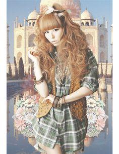 w<3c -BIG Flannel Shirt Harajuku Fashion, Fashion Outfits, Japanese Harajuku, Japanese Models, Flannel Shirt, 3c, Blouse, Idol, Shirts