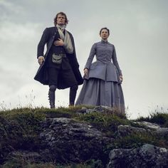 "743 Likes, 1 Comments - Italian Outlanders (@outlander_world) on Instagram: ""New #Outlander 3x08 still with #SamHeughan and #CaitrionaBalfe as #JamieFraser and #ClaireFraser .…"""