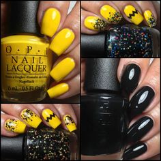 Colores de Carol: OPI - Peanuts Collection. Halloween 2014, Swatches and Review.