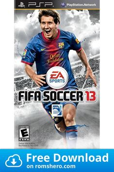 Download Fifa Soccer 13 Playstation Portable Psp Isos Rom In 2020 Fifa Soccer Playstation