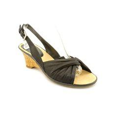 Aerosoles Zenthusiasm Womens Size 7.5 Black Open Toe Fabric Wedge Sandals Shoes Aerosoles http://www.amazon.com/dp/B00B1PC7N6/ref=cm_sw_r_pi_dp_Ncsvvb04YCXA6