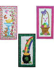 Quilt - Spring Parade Skinnies Pattern - #429204 Small Quilt Projects, Quilting Projects, Sewing Projects, Small Quilts, Mini Quilts, Sewing Ideas, Sewing Crafts, Skinny Quilts, Miniature Quilts