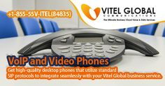 Vitel #Global is the #business #VoIP #solution you've been looking for. It's brought to you by one of the leading #hosted VoIP #providers Contact us:  +1-855-558-4835, www.vitelglobal.com