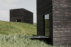 Eyrie : Cheshire Architects Burnt timber cladding