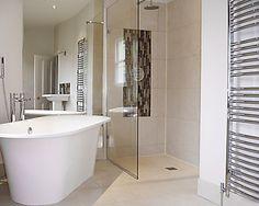 Small Wet Room Bathroom Design #HandicappedBathroomTips >> Visit us at http://www.disabledbathrooms.org/wheelchair-accessible-bathroom.html