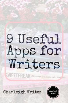 Here I talk about the 9 apps I find incredibly useful as a writer. Fiction Writing, Writing Advice, Writing Resources, Writing Prompts, Writing Sites, Cool Writing, Creative Writing, Writing A Book, Memoir Writing