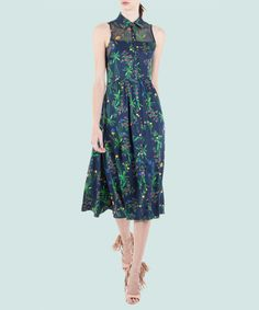 Shop a Spring Dress a Day: The New Way to Wear Florals from InStyle.com