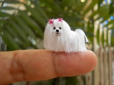 Miniature Crochet Animals