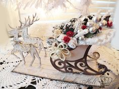 Come check out my Fabulous Christmas Sleigh Video tutorial featuring Sizzix…